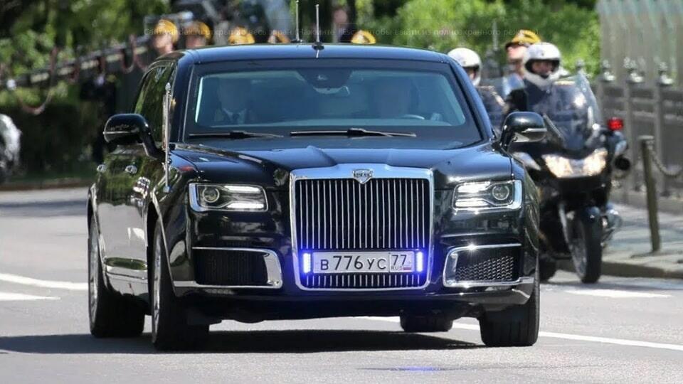 Автомобиль Путина