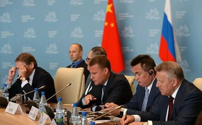 Китай - РФ