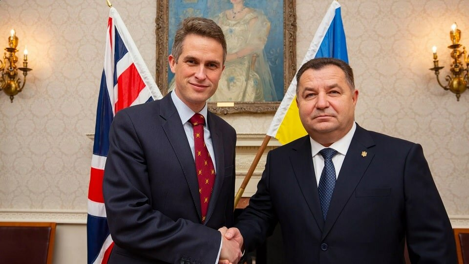 Министры обороны Великобритании и Украины