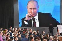 Пресс-конференция В.Путина