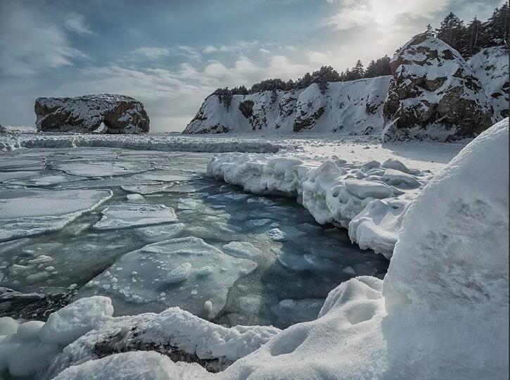 Сахалин зимой
