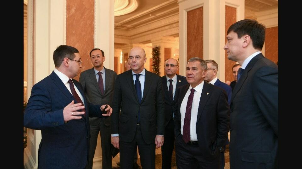 Силуанов в Казани