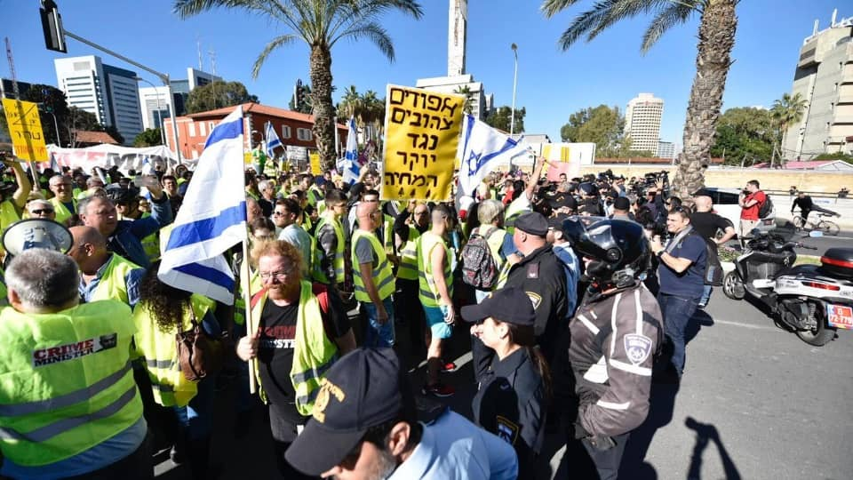 Желтые жилеты в Израиле