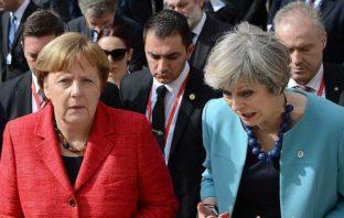 Меркель и Тереза Мэй