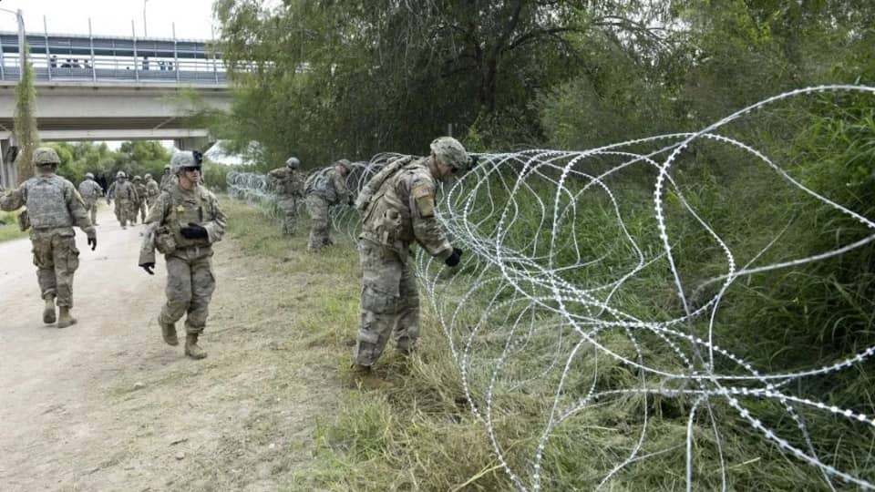 Граница с Мексикой