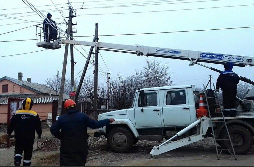 Крым электричество
