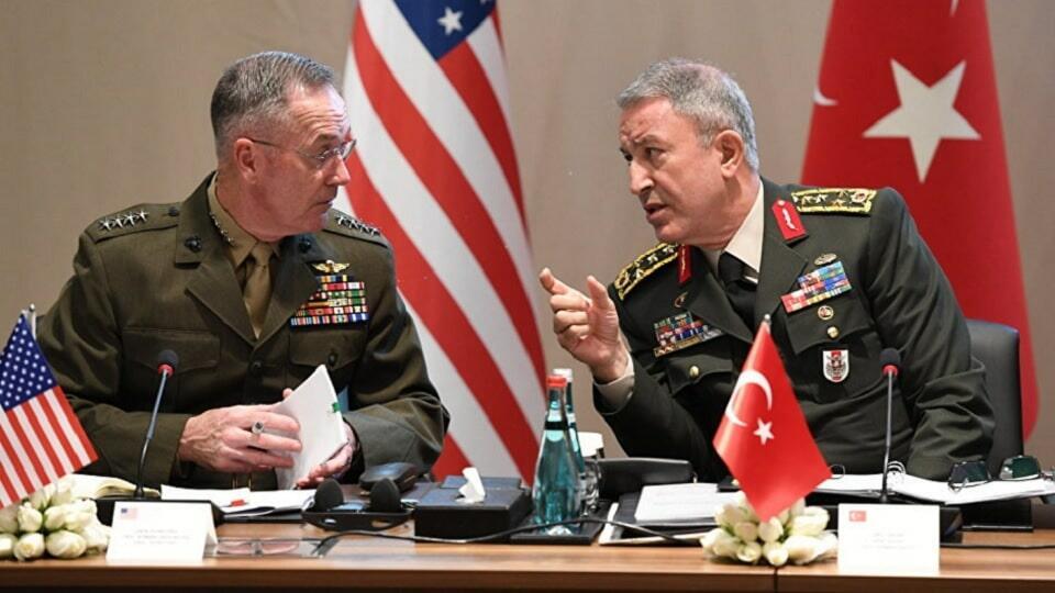 Переговоры СШ - Турция