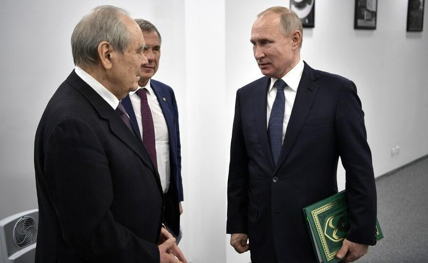 Путин в Казани 12.02.2019