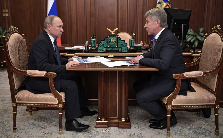 Путин встреча с главой НОВАТЕК