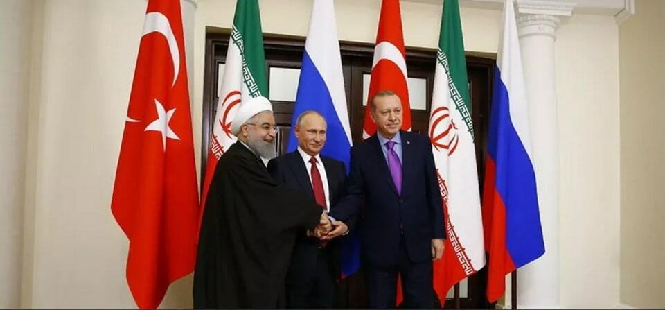 президенты россии ирана и турции