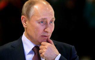 Напуганный Путин