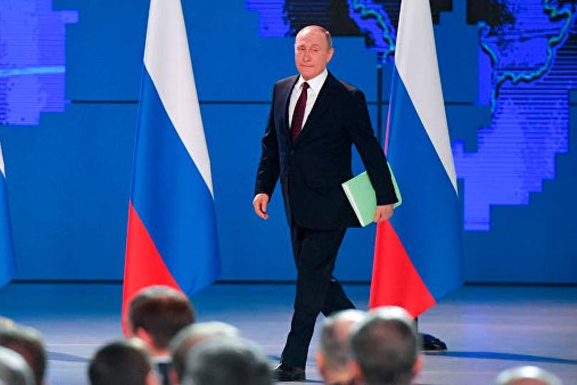 Путин 2019
