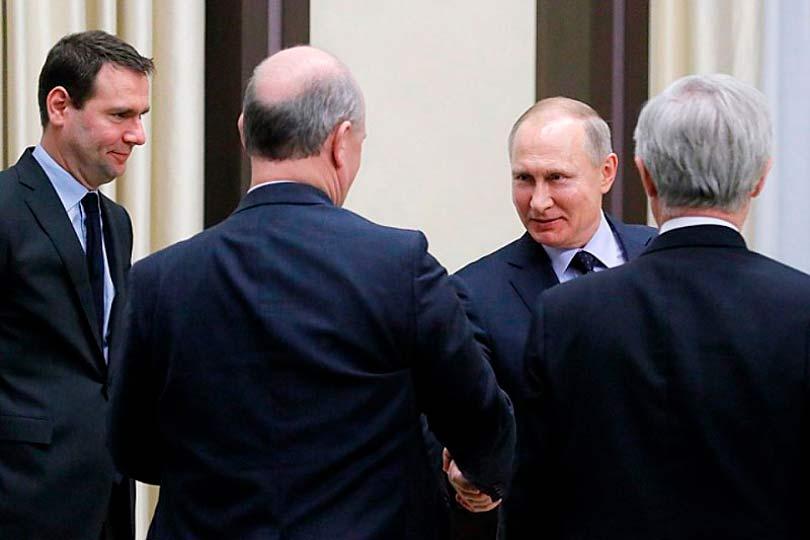 Бизнесмены и Путин