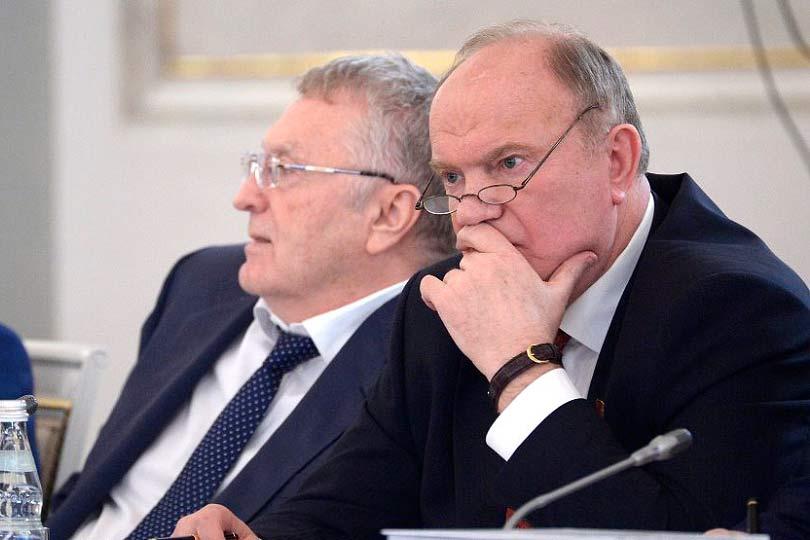 Зюганов и Жириновский