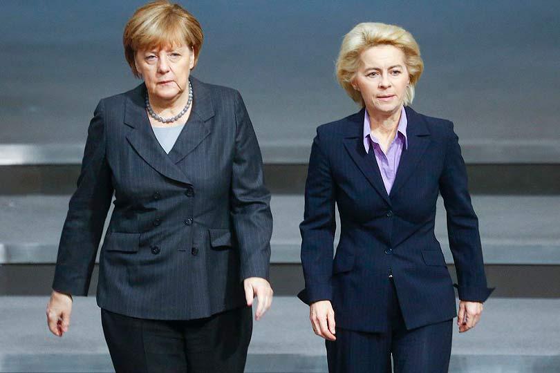 Меркель и Урсула фон дер Ляйен