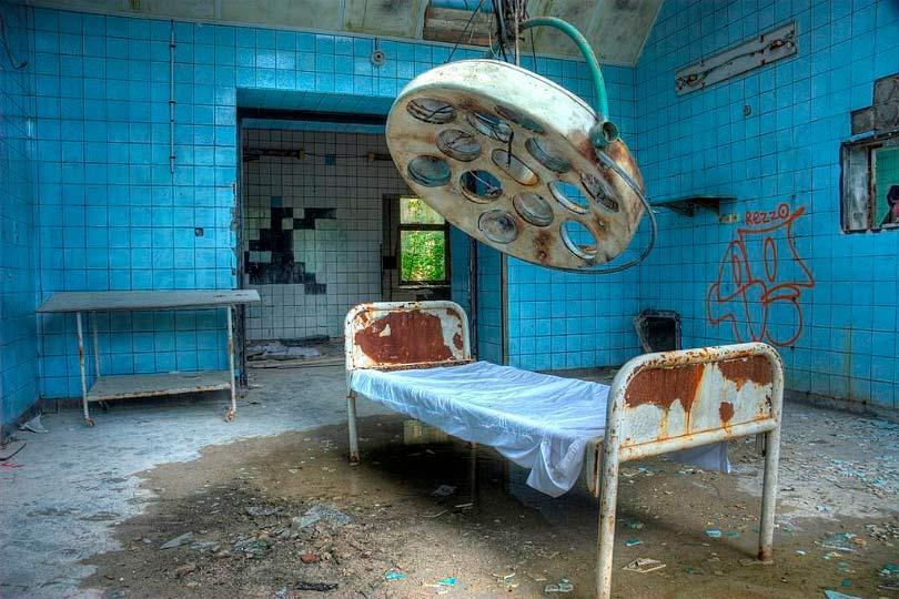 Ветхая больница