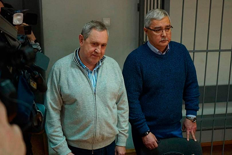 Вадим Белоусов в суде