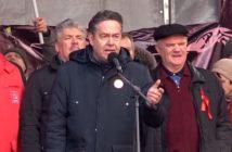 Платошкин на митинге