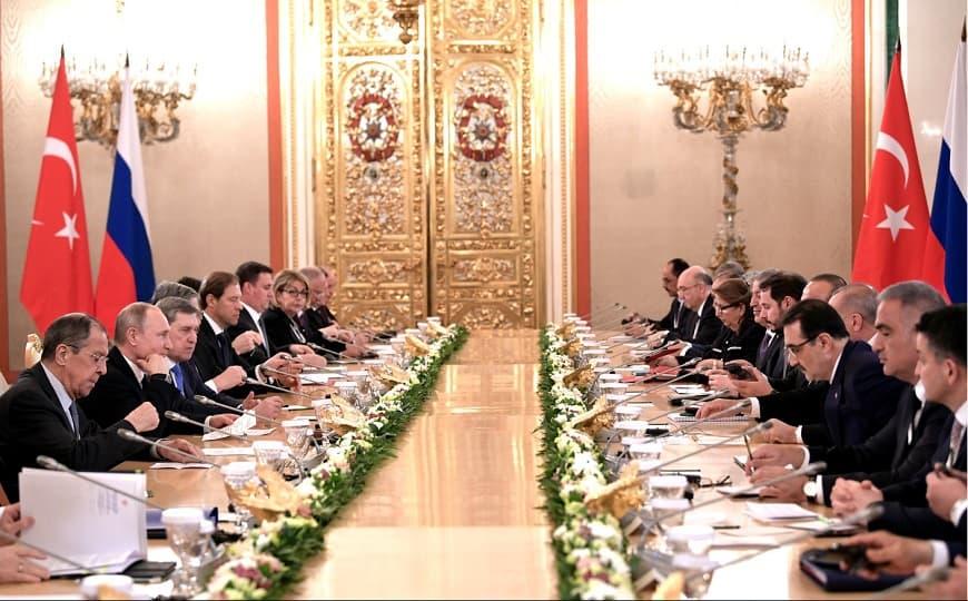 Переговоры Россия - Турция