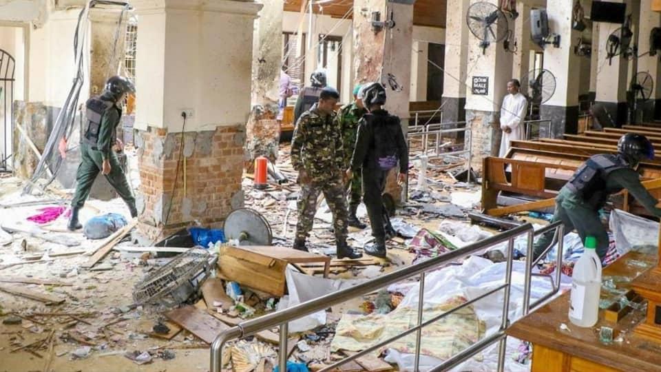 Шри-Ланка теракт