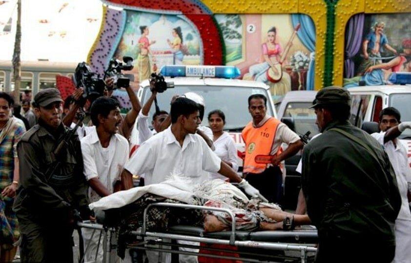 Шри-Ланка терракт