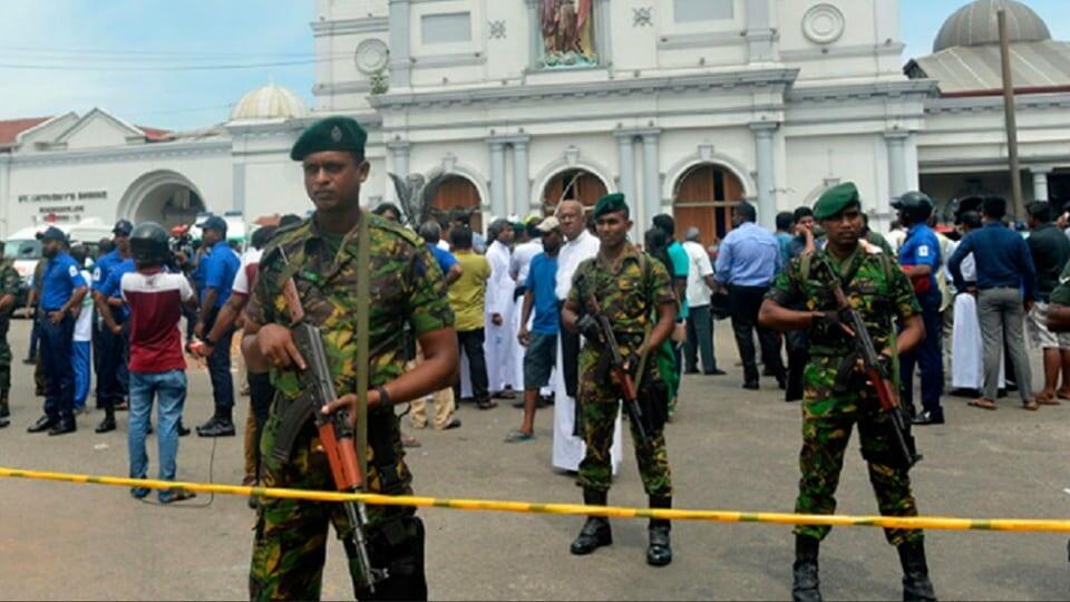 Шри-Ланка взрывы