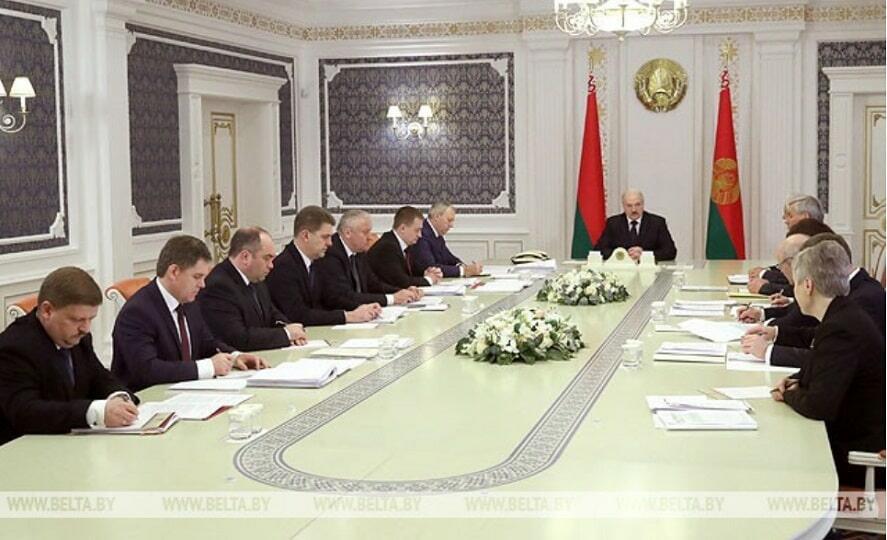 Совещание при Лукашенко