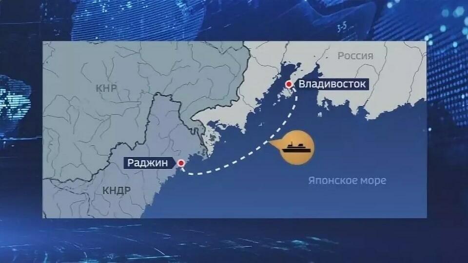 Владивосток - Северная Корея