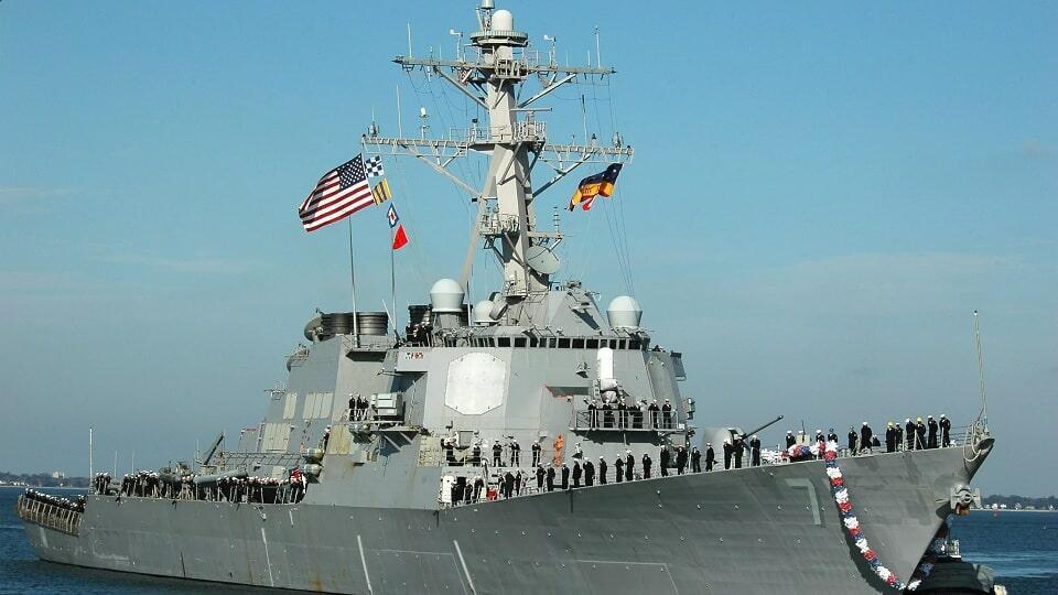 эсминец ВМФ США `Росс`