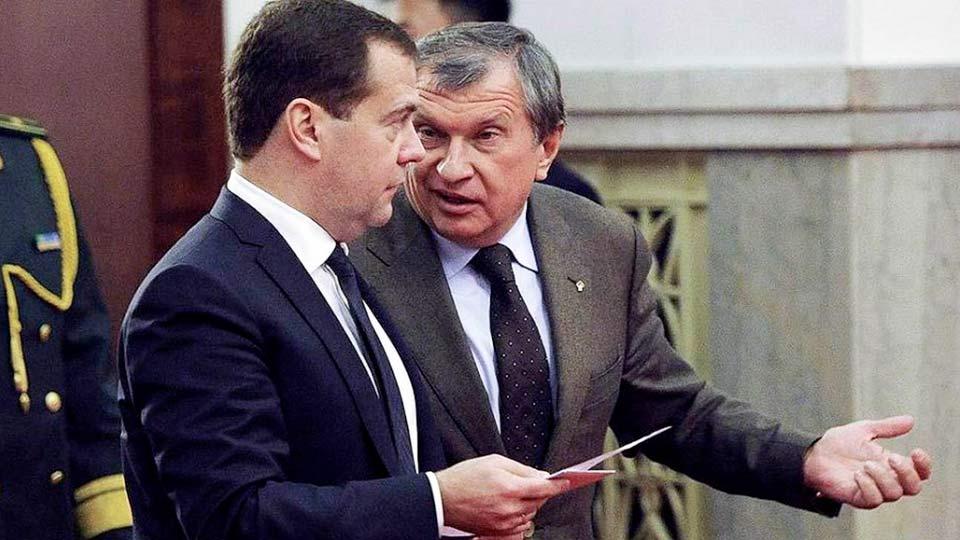 Сечин и Медведев