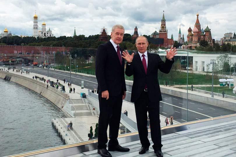 Путин и Собянин
