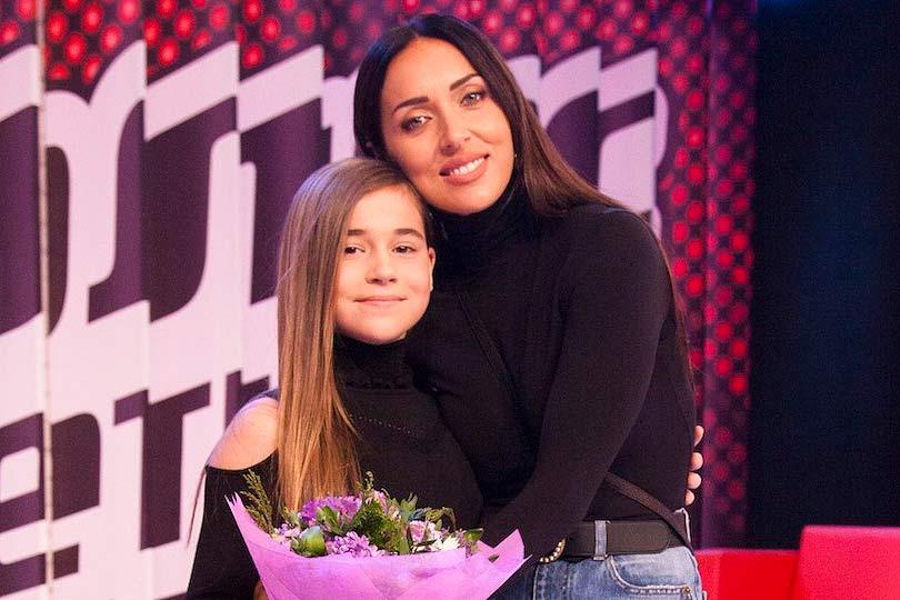 Алсу и дочь Микелла