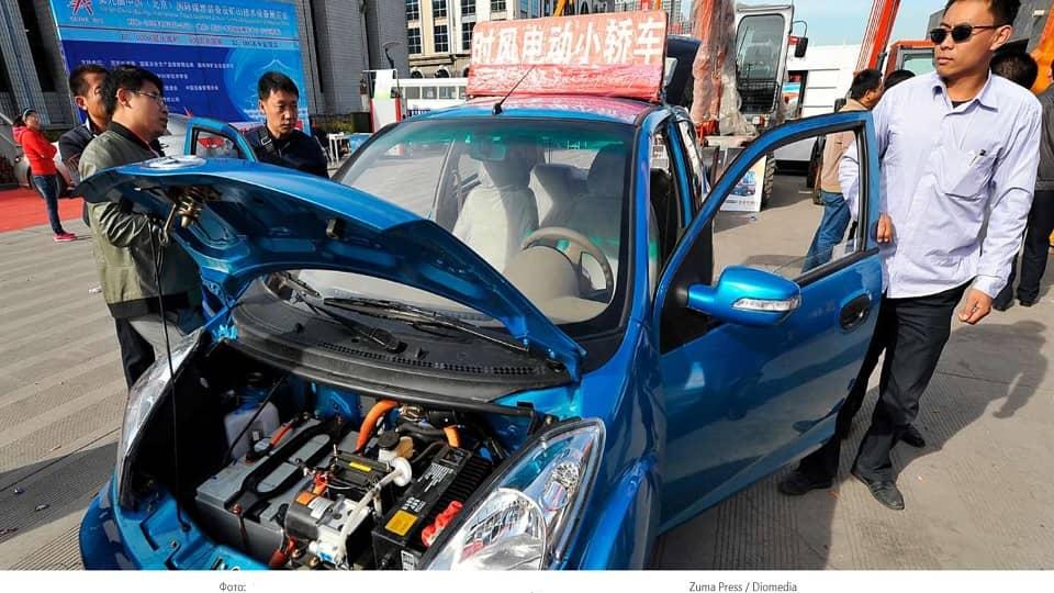 Электромобиль КНР
