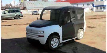Электромобиль российский