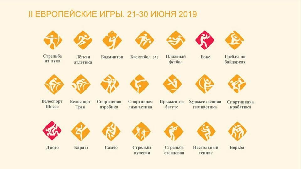 Минск - европейские игры