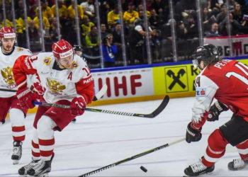 Россия - Австрия ЧМ хоккей 2019