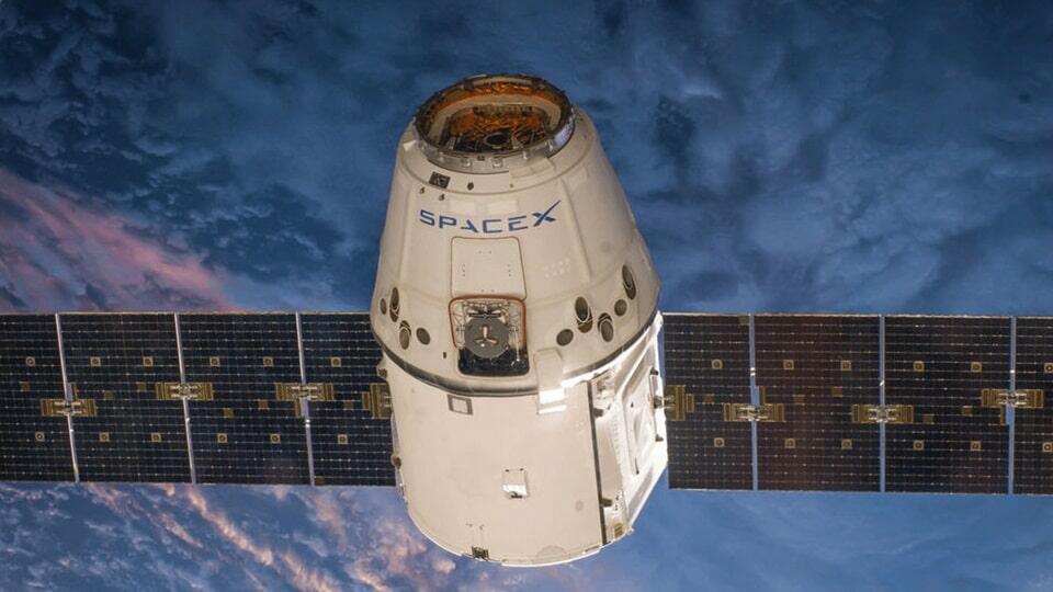 SpaceX спутник