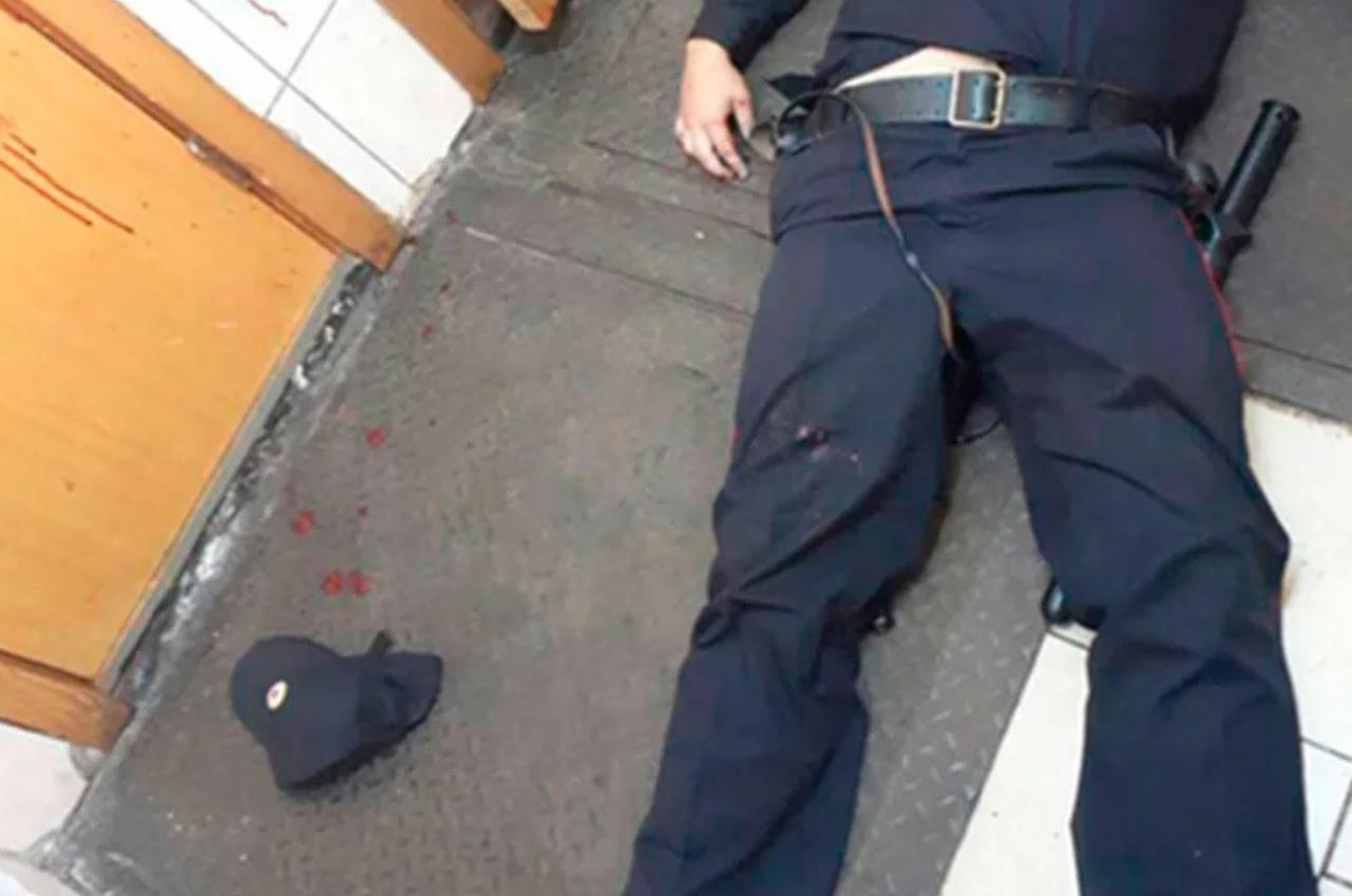 Убитый полицейский