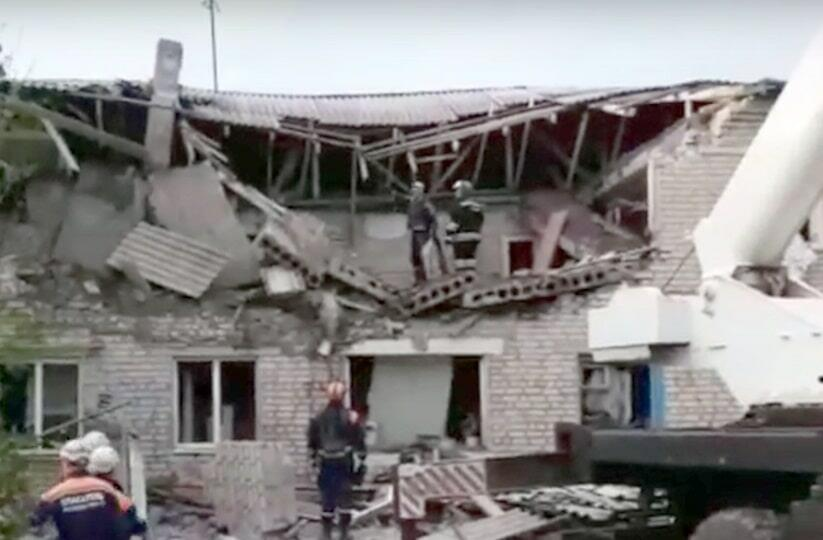 Взрыв газа в Ростове