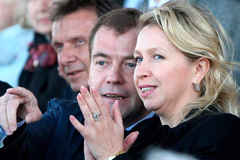 Медведевы Светлана и Дмитрий