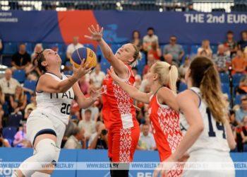 Белорусские баскетболистки выигрывают