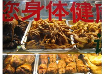 Куриные лапки - деликатес в Китае