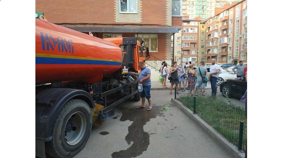 Подвоз воды в Краснодаре