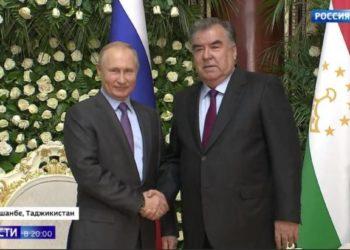 Путин в Душанбе