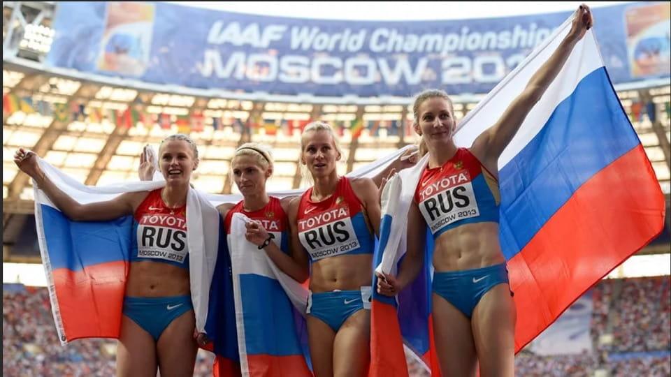 Российские спортсменки