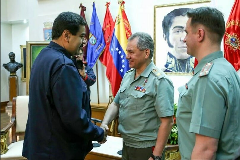 Российские военные в Венесуэле