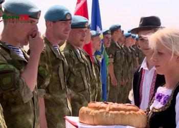 Военные учения в Сербии