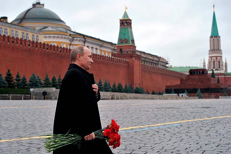 Путин на Красной Площади