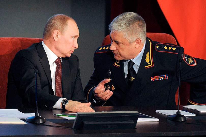 Колокольцев с Путиным