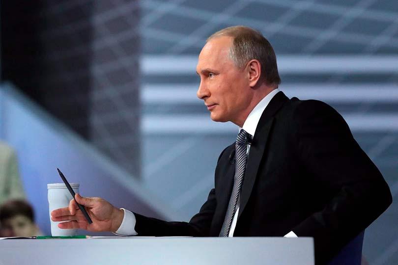 Прямая линия с Путиным